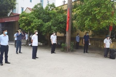Hải Dương diễn tập kịch bản bầu cử trong điều kiện phòng chống dịch Covid 19