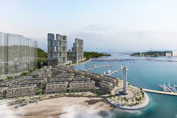 Ra mắt 'siêu phẩm' tổ hợp BĐS Sun Marina bên vịnh Hạ Long
