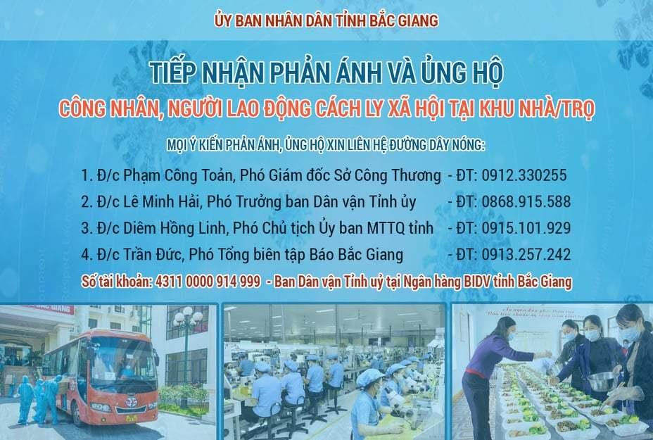 Bắc Giang trưng dụng nhà thi đấu thể thao xây dựng bệnh viện dã chiến 620 giường