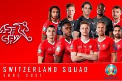 Danh sách ĐT Thụy Sĩ dự EURO 2020