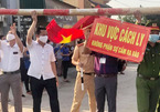 Nghệ An dỡ bỏ lệnh phong toả 5 thôn ở thị xã Hoàng Mai