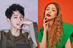 Song Joong Ki ấn tượng trong MV của 'Nữ hoàng nhạc số' Heize