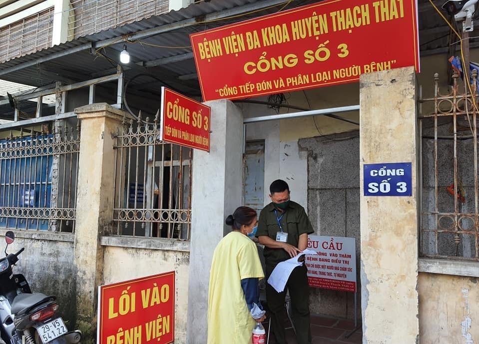 Ca dương tính nCoV đến khám ở Thạch Thất, Hà Nội đang điều tra nguồn lây