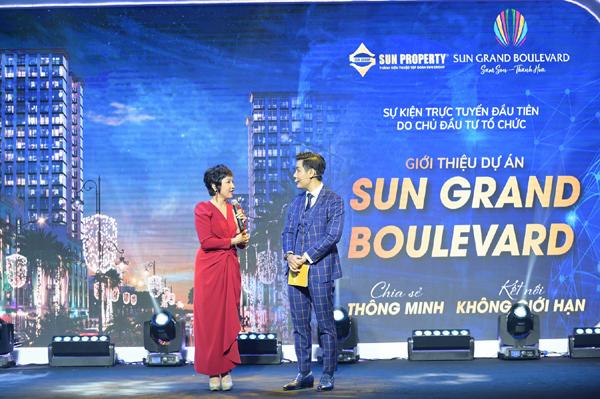 Lễ giới thiệu dự án Sun Grand Boulevard hút hàng ngàn người xem trực tuyến