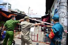 Phong tỏa tạm thời một phần chợ Phú Nhuận