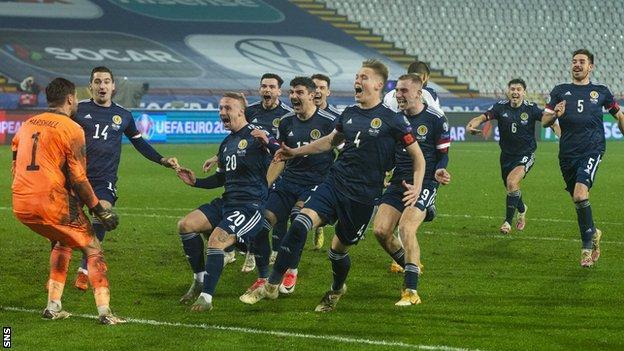 Danh sách ĐT Scotland dự EURO 2020