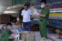 Bắt khẩn cấp chủ đường dây sản xuất xăng dầu giả quy mô lớn ở Bình Thuận