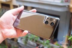 Trên tay Oppo Find X3 Pro: Điện thoại siêu dị với camera kính hiển vi