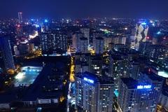 Động đất ở Trung Quốc gây rung lắc các tòa nhà cao tầng tại Hà Nội