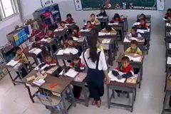 Cô giáo trẻ được khen ngợi vì cách xử trí khi động đất tấn công Trung Quốc