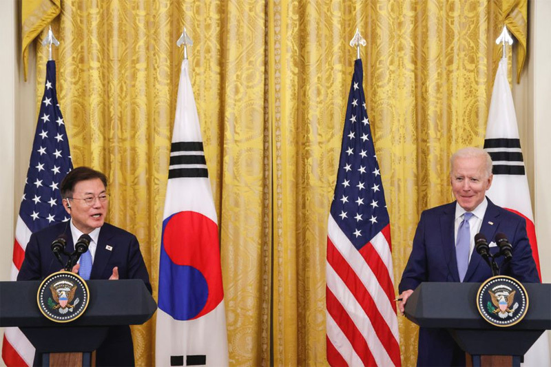Tổng thống Hàn Quốc tiết lộ mục đích gặp ông Biden