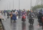 Cảnh báo mưa to trong ngày bầu cử ở TP.HCM