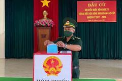 Lực lượng vũ trang khu vực biên giới của Tây Nguyên bầu cử sớm