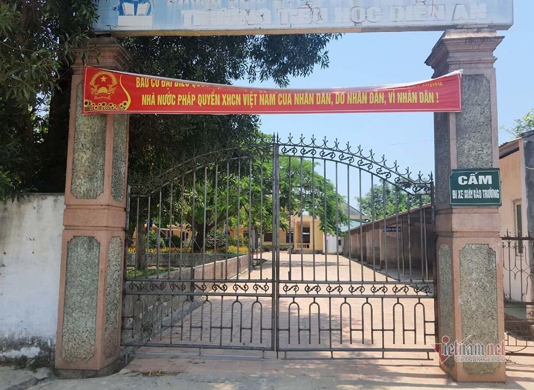 Nghệ An: Bảo vệ trường học bị tố sàm sỡ nhiều nữ sinh