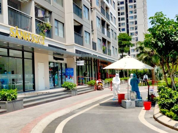Hà Nội phong tỏa một tòa chung cư Vinhomes OceanPark