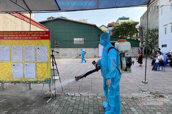 Hải Dương lên khung giờ cho cử tri đi bầu cử để chống dịch