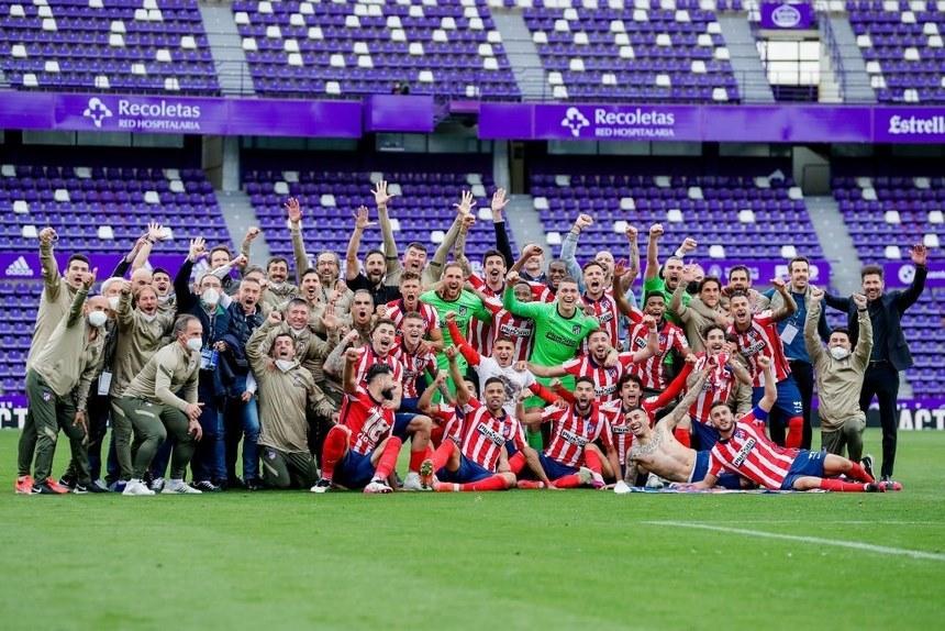 Suarez lập đại công, Atletico lên ngôi vô địch siêu kịch tính