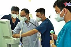 4 ngày thần tốc dựng trung tâm hồi sức tích cực lớn nhất ở tâm dịch Bắc Giang