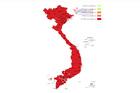 Chi tiết về số lượng cử tri của 63 tỉnh thành đã bỏ phiếu bầu cử
