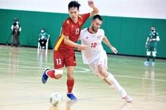 Hòa Lebanon, ĐT Futsal Việt Nam quyết chiến ở lượt về