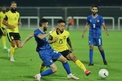 Malaysia thua đậm Kuwait trước khi đấu tuyển Việt Nam