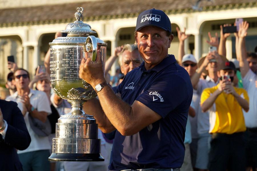 Vô địch PGA Championship, Phil Mickelson đi vào lịch sử