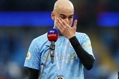 Pep Guardiola rơi nước mắt khi nói lời chia tay Sergio Aguero