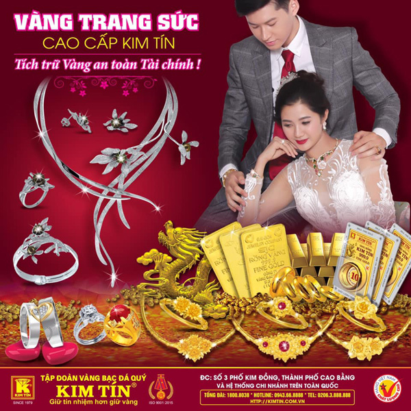 Tập đoàn vàng bạc đá quý Kim Tín tư vấn cách chọn trang sức hợp màu da