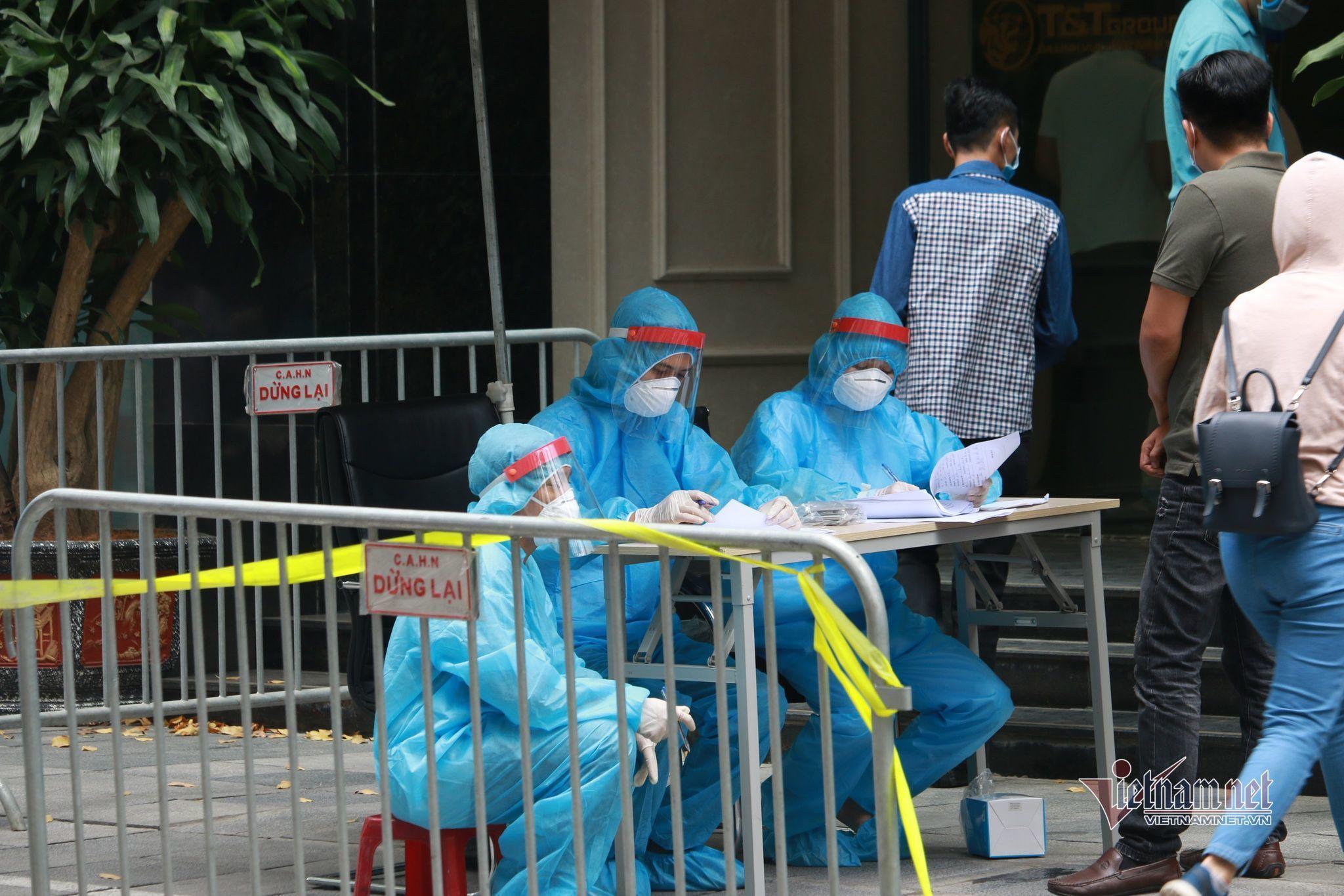 Phong tỏa trụ sở tập đoàn T&T, nhân viên nghỉ ở nhà do có ca Covid-19