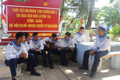 Daily life of naval soldiers in Truong Sa island district