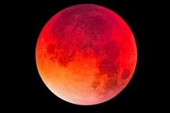Hiện tượng siêu trăng máu sẽ diễn ra trong tuần này