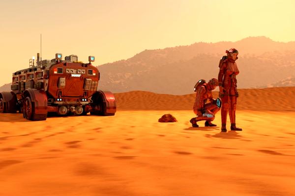 Con người có thể sinh sản trên Hỏa tinh?