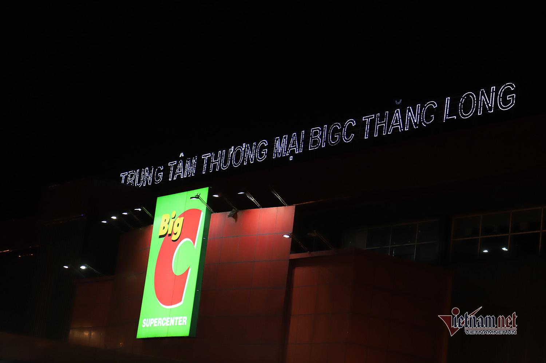 Tạm đóng cửa Big C Thăng Long, phun khử khuẩn ngay trong đêm