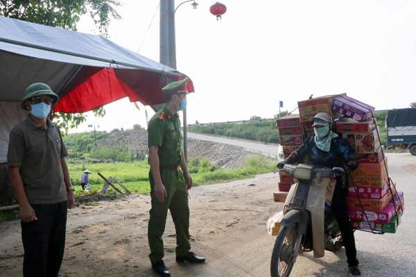 Bắc Ninh thành lập 115 điểm chốt chặn kiểm soát dịch