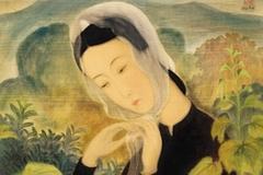 Bức tranh 'Quý cô thắt khăn' có giá 1,1 triệu USD