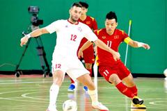 Vietnam have advantage after first leg of futsal playoff: coach