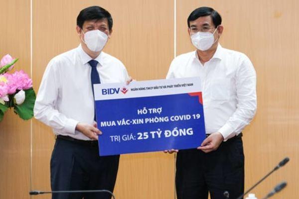 Nhiều tập đoàn, ngân hàng ủng hộ Chính phủ mua vắc xin phòng chống Covid-19