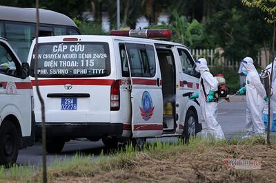 Cả ngày 1/8, Hà Nội có 73 ca dương tính SARS-CoV-2