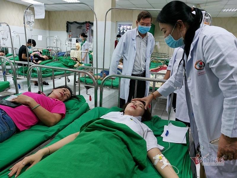 Rò khí Amoniac, hàng chục công nhân ở Bình Dương nhập viện