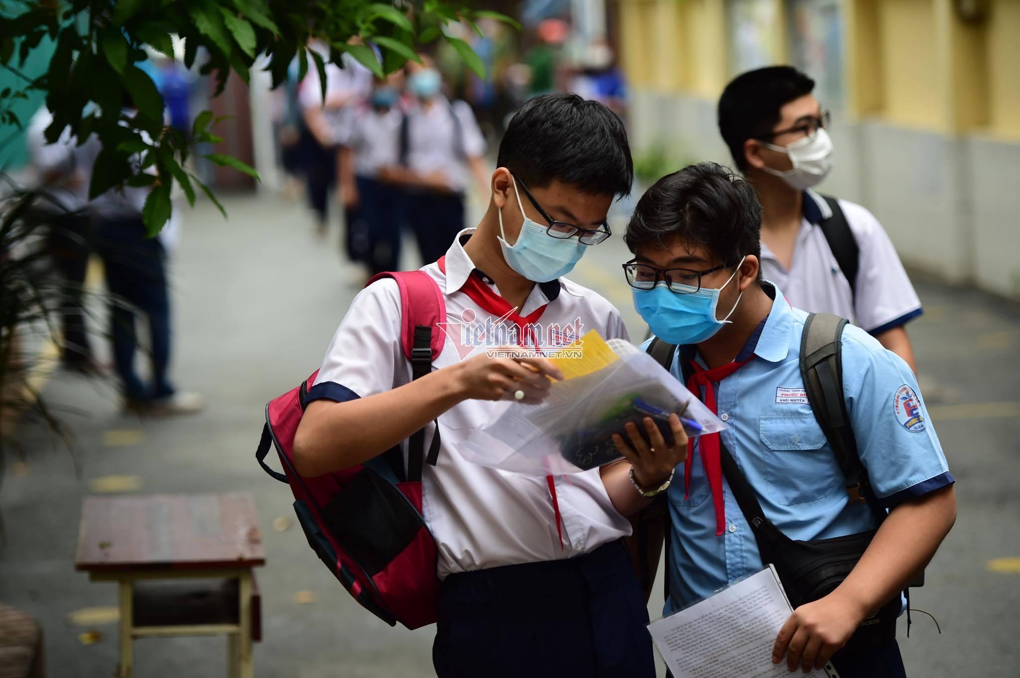 Trường chuyên đầu tiên cả nước tổ chức thi vào lớp 10