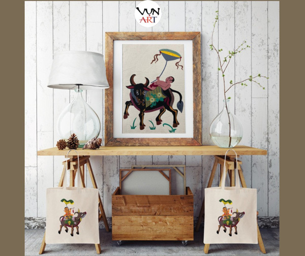 Vun Art Cooperative,people with disabilities,folk paintings