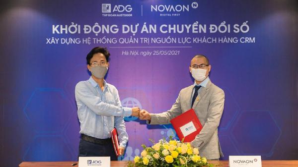 Austdoor và Novaon hợp tác chuyển đổi số hệ thống quản trị nguồn lực khách hàng CRM