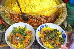 Bun nghe xao long, a unique dish of Hue