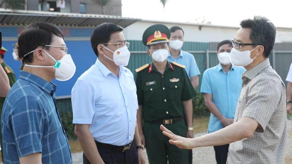 Thủ tướng triệu tập họp trực tuyến khẩn cấp với  Bắc Giang, Bắc Ninh