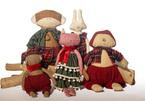 Traditional fabric creates environmentally-friendly toys