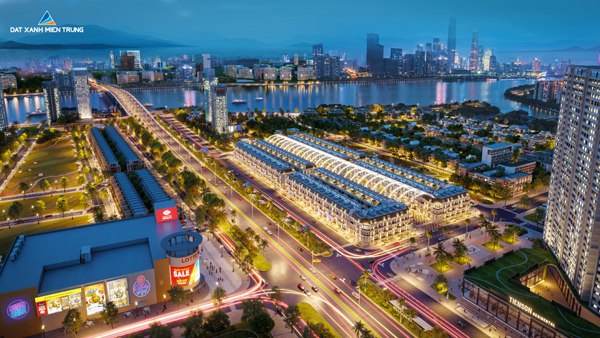 Đà Nẵng: Dự án shophouse 5 sao Regal Pavillon cất nóc sau 2 tháng khởi công