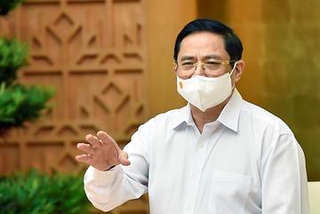 Thủ tướng: Mục tiêu cao nhất là đẩy lùi dịch bệnh ở Bắc Giang và Bắc Ninh