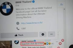Fanpage BMW Thái Lan bình luận về Hoài Linh