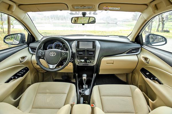 ToyotaVios2021: Bản nâng cấp ưu việt