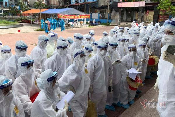 Bộ Y tế ra hướng dẫn khẩn chặn dịch Covid-19 ở các khu công nghiệp